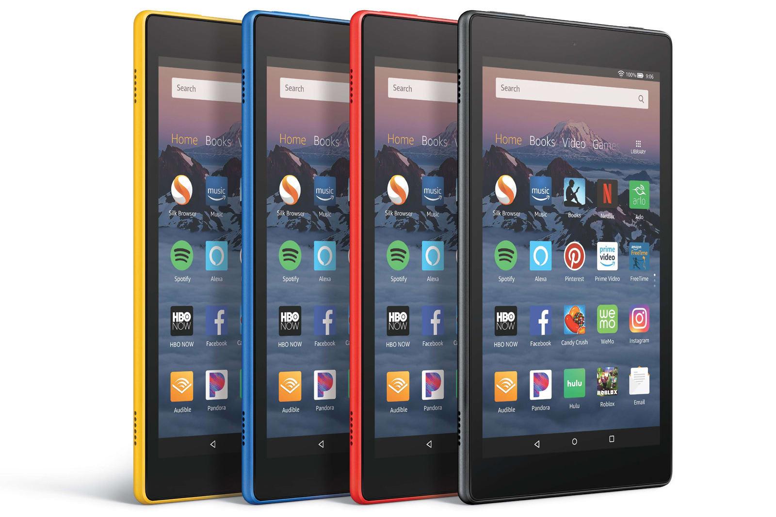 amazon fire hd tablets now receive alexa drop in calls