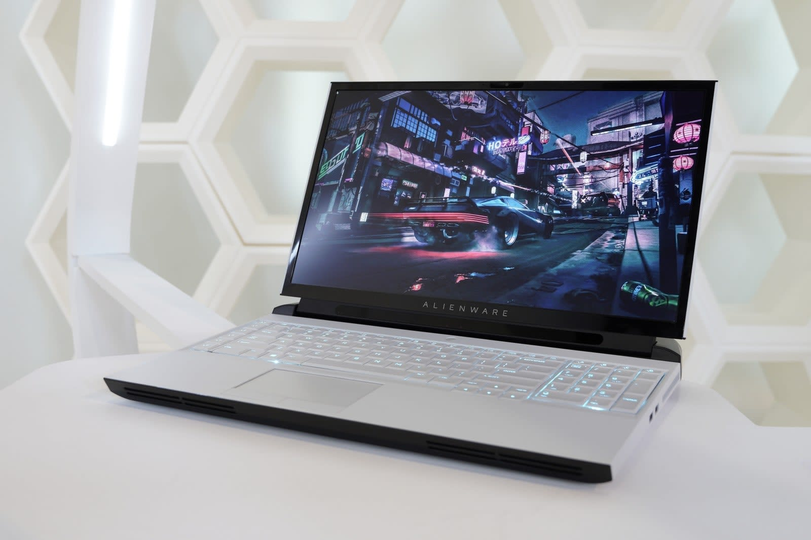 Alienware's Area 51m laptop has an upgradable CPU and