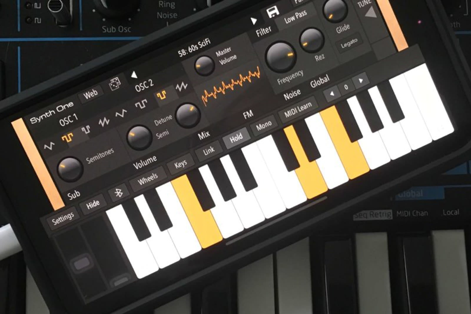 AudioKit's free, feature-loaded synth is available for iPhone