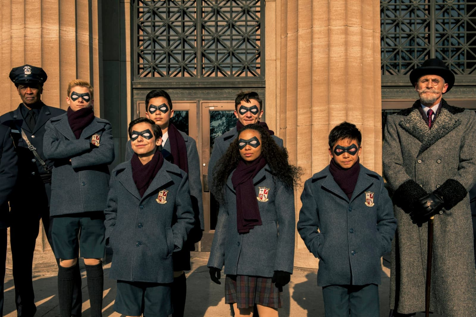 Image result for umbrella academy netflix