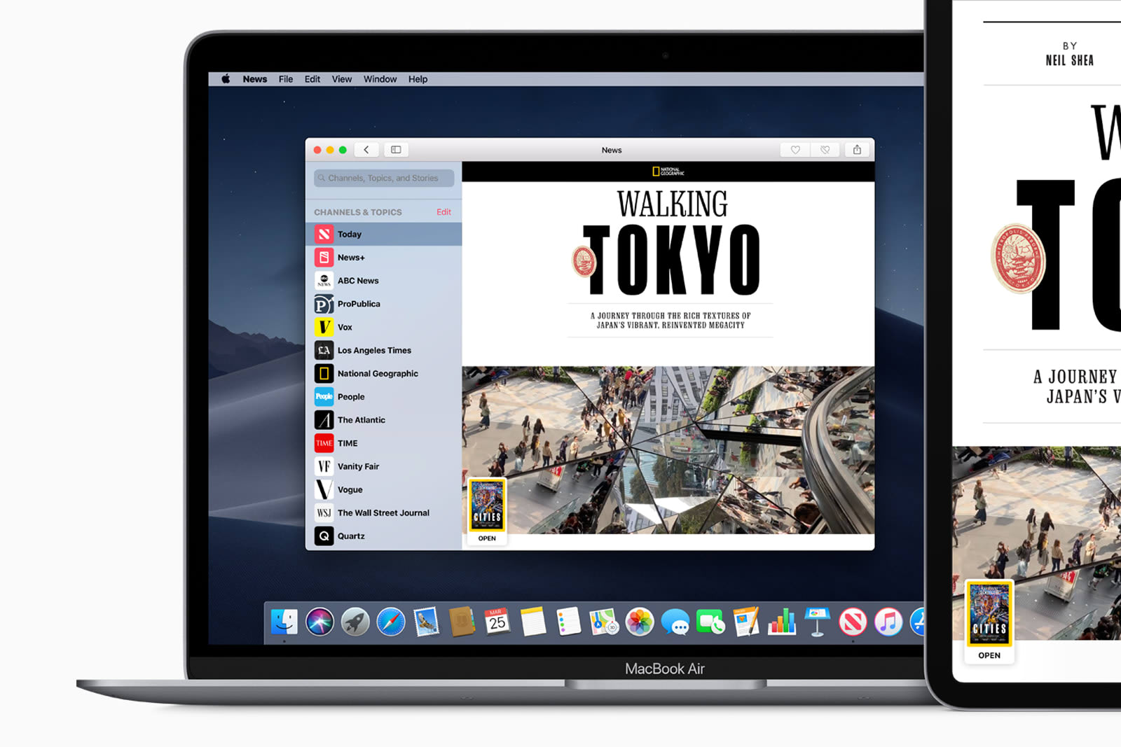 macOS update adds support for Apple's News+ subscription service