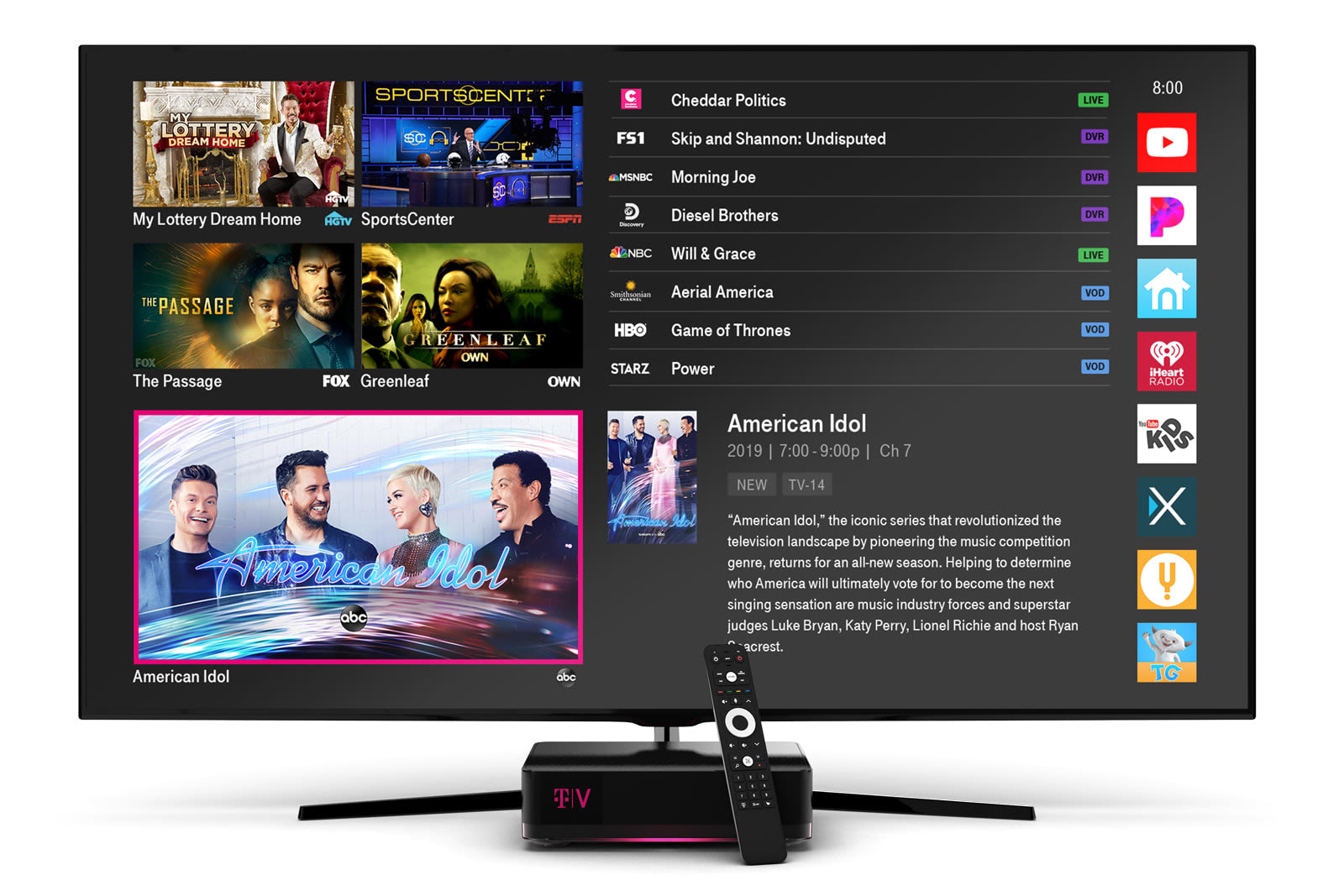 T-Mobile relaunches its TV service with an AI viewing guide (updated)