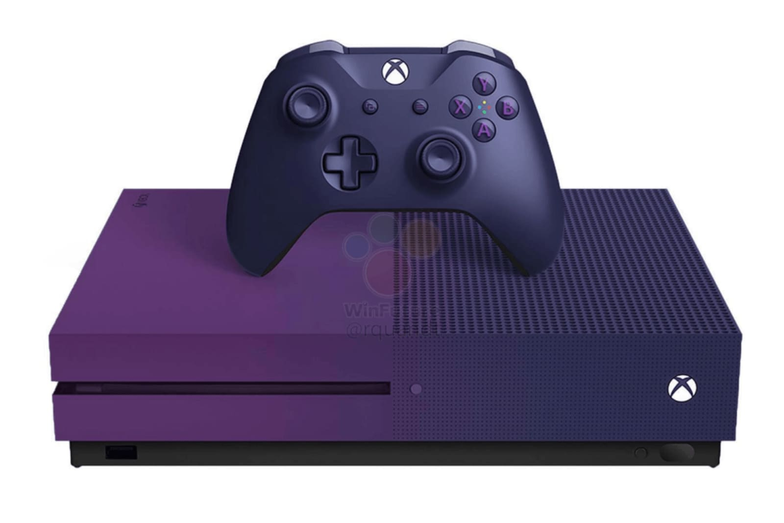 Leak Shows Microsoft S Very Purple Fortnite Xbox One S