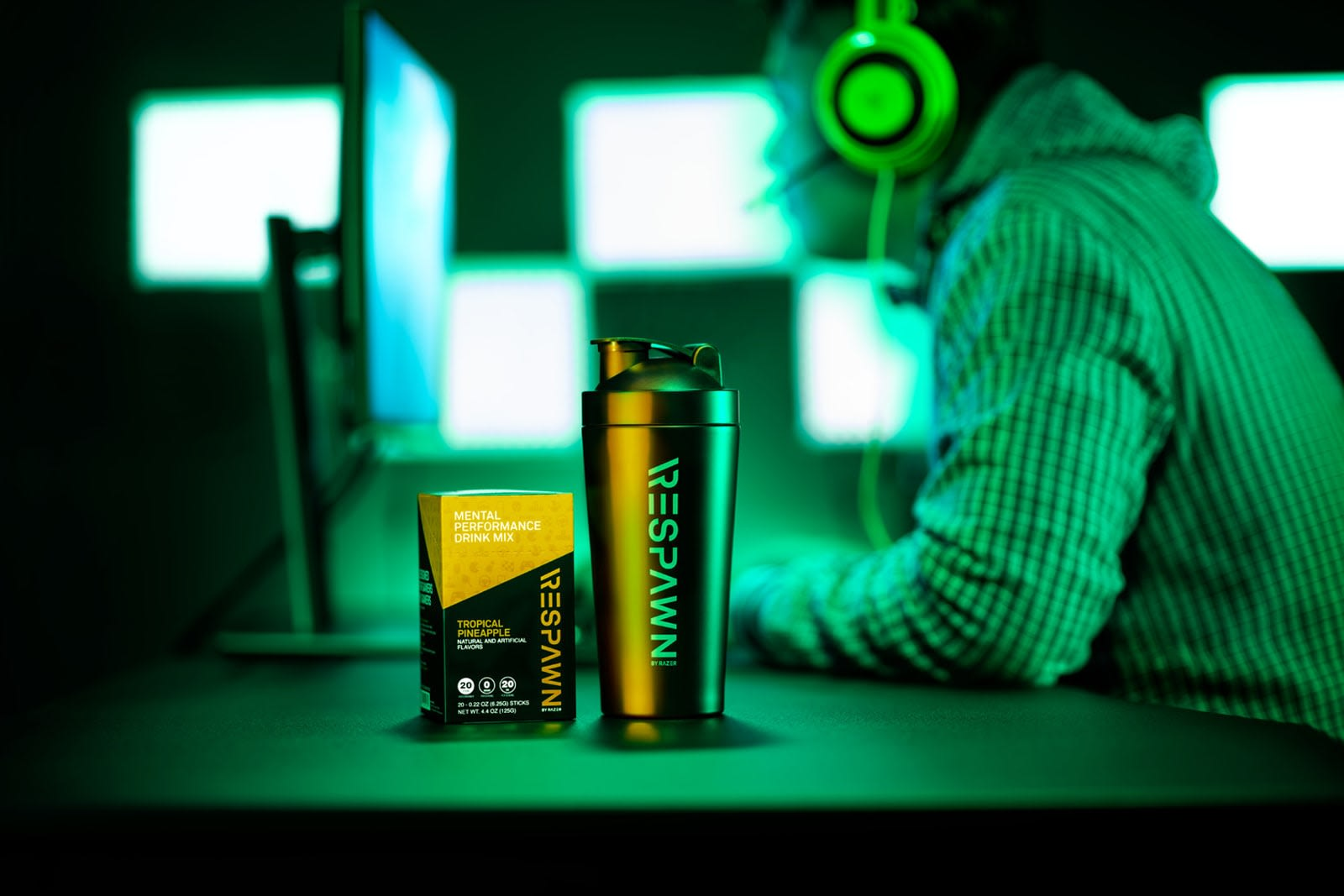 Razer's 'mental performance' drink probably won't quench its