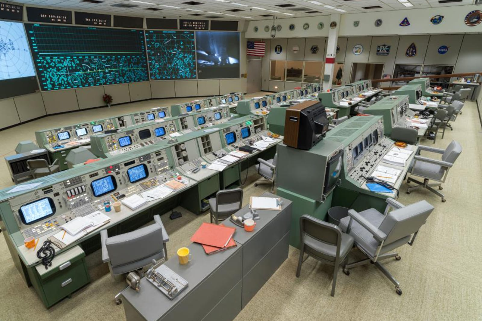 NASA reopens Apollo mission control in time for Moon landing anniversary