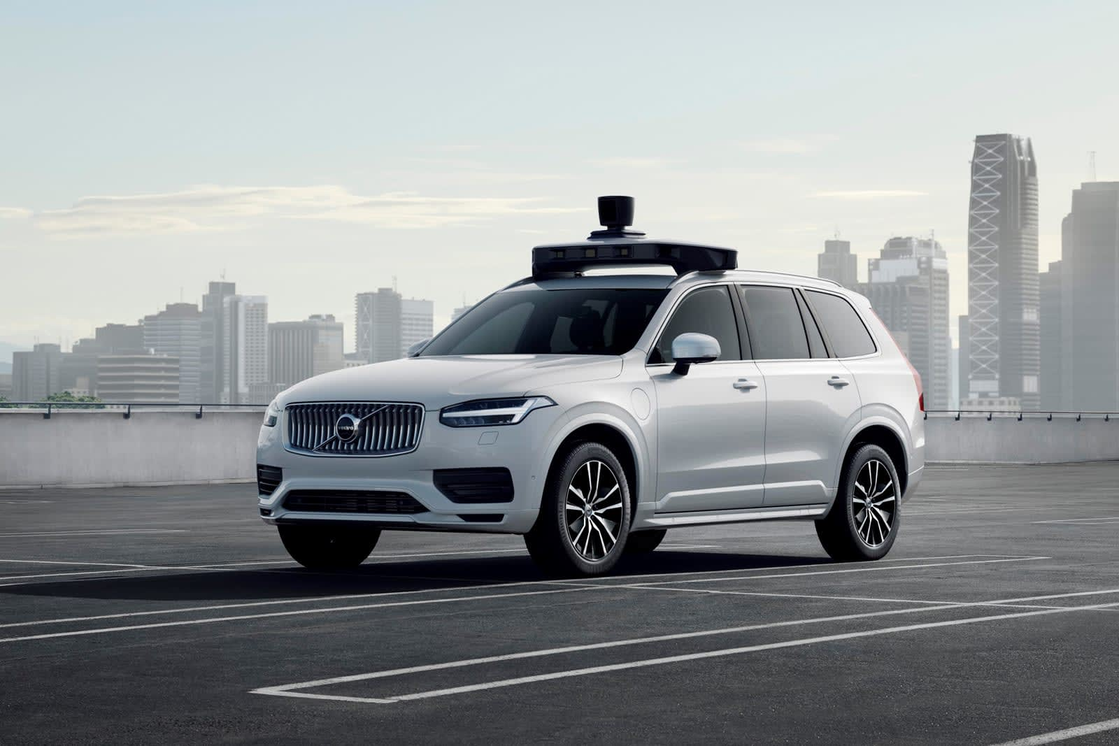 Volvo and Uber's first self-driving car is ready for the road