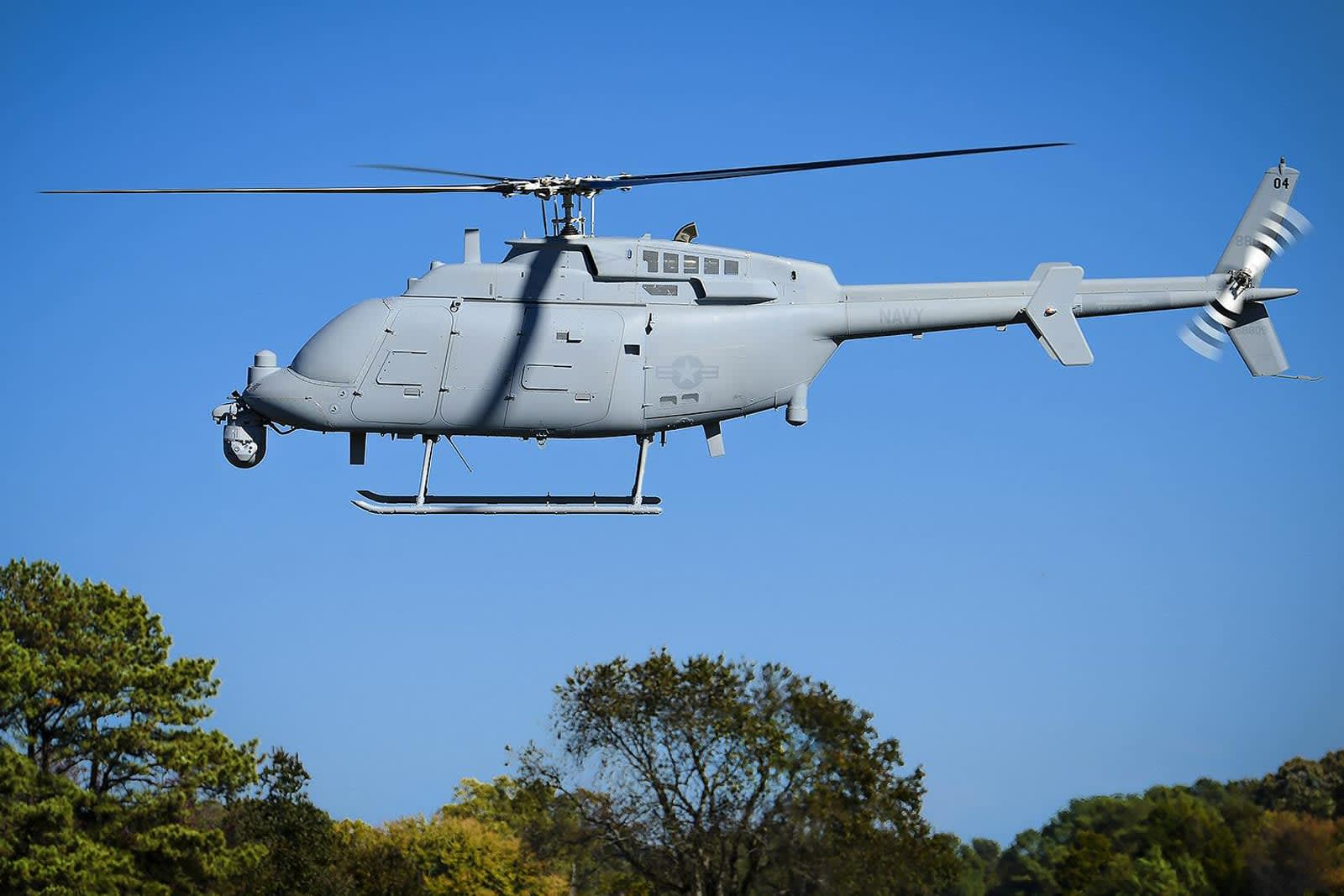 US Navy's next-gen helicopter drone is ready for service