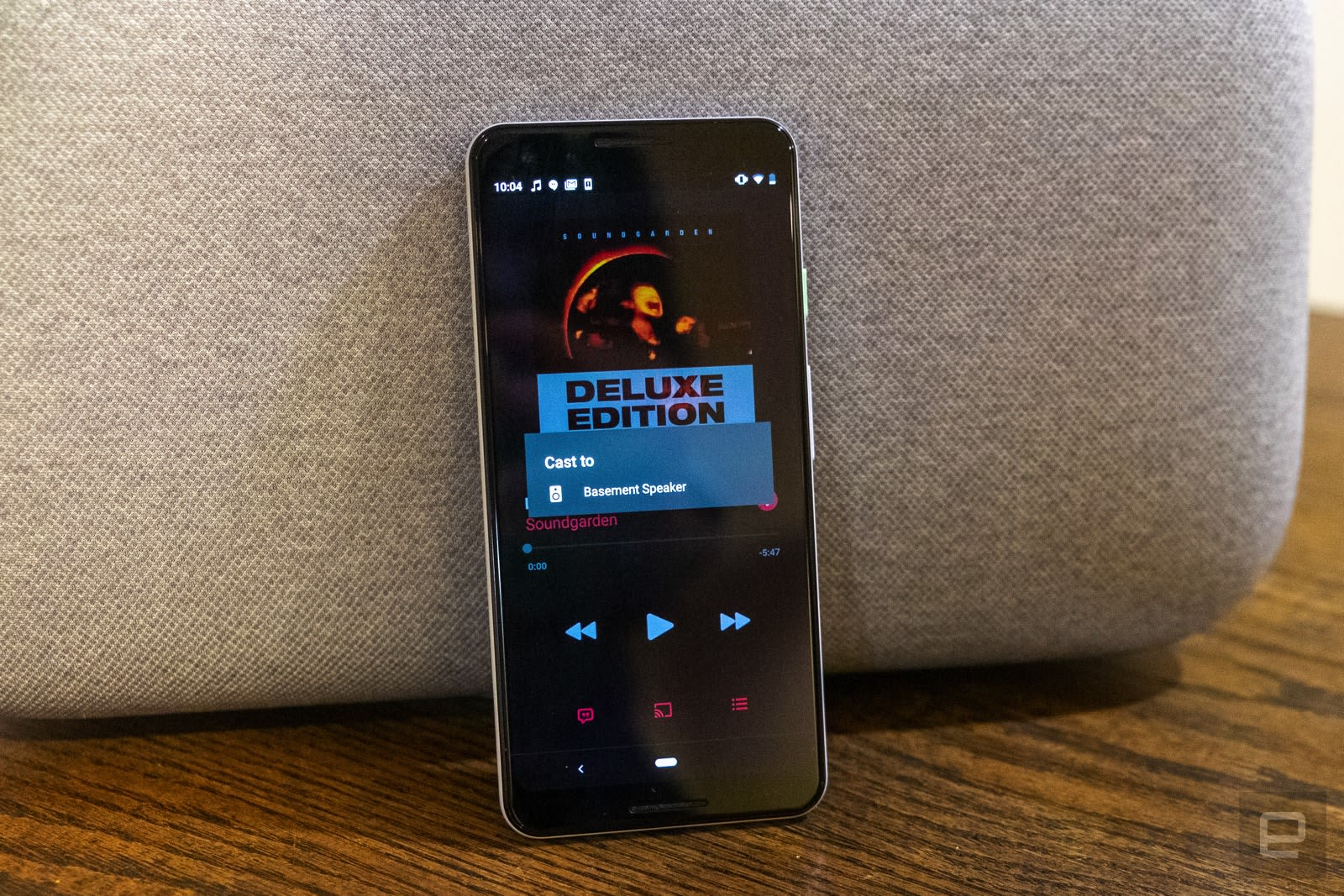Apple Music for Android works with Chromecast devices in the