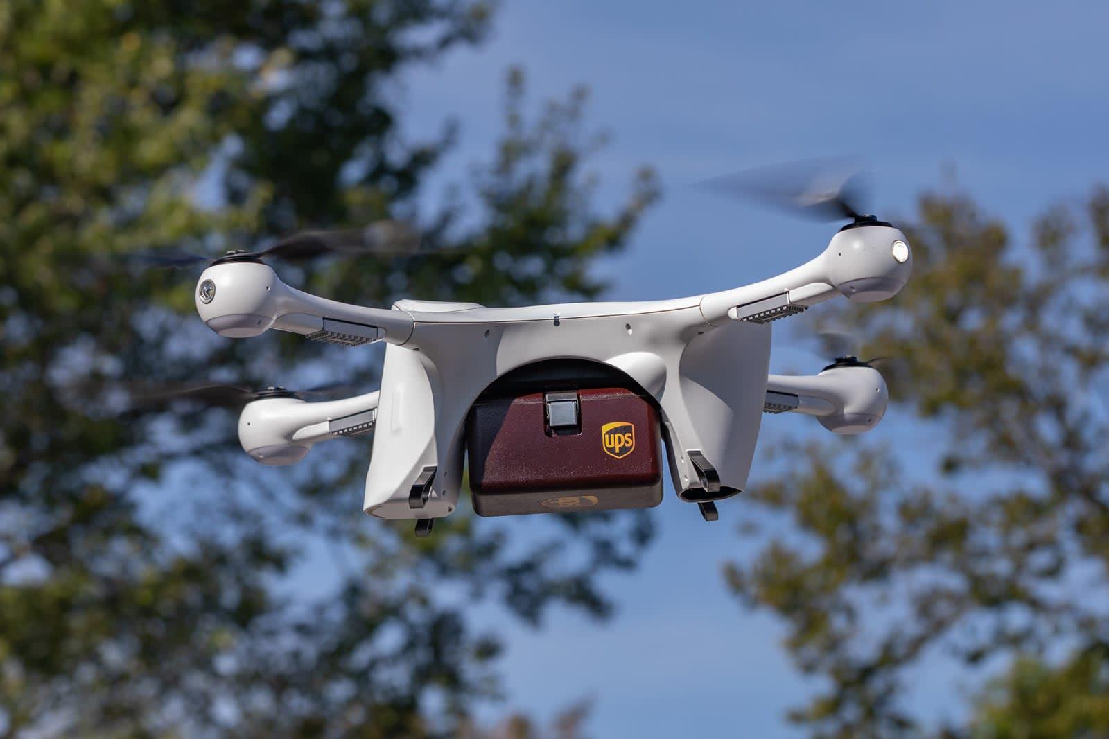 UPS and CVS plan to deliver prescriptions via drone