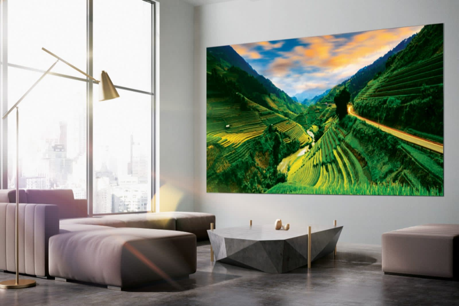 Samsung's giant 'Wall' TV now comes in four more sizes