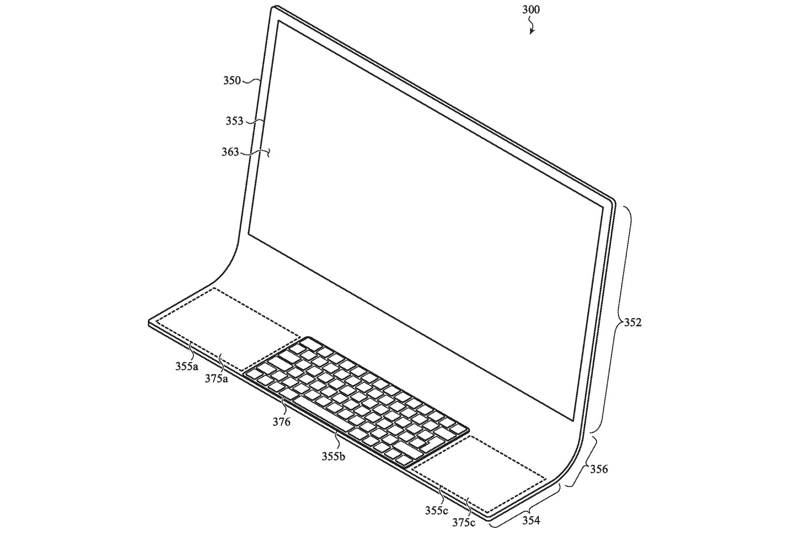 Apple envisions a Mac made from a sheet of curved glass