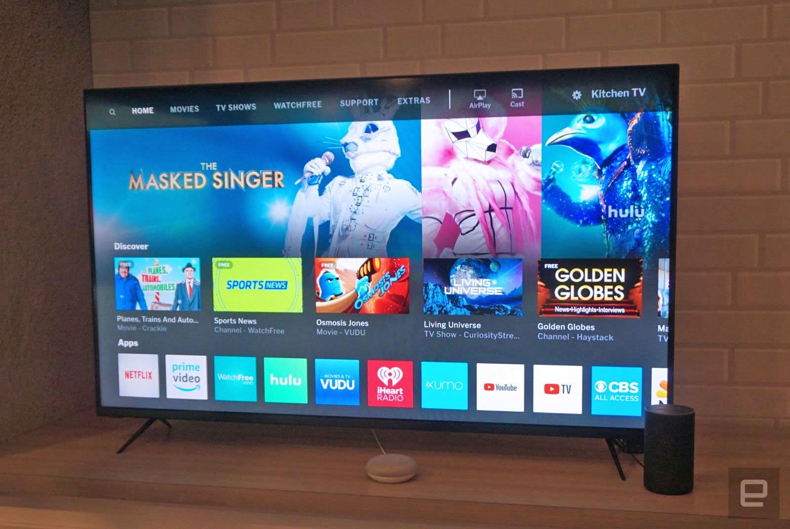Vizio begins updating its TVs with AirPlay 2 and HomeKit