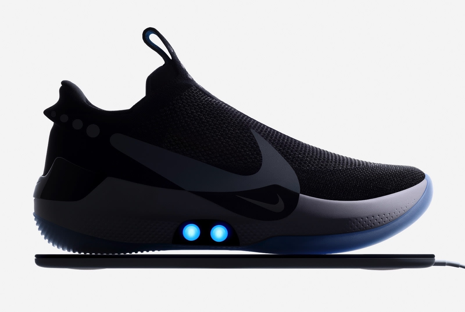 Nike's Adapt BB is an app-controlled, self-lacing