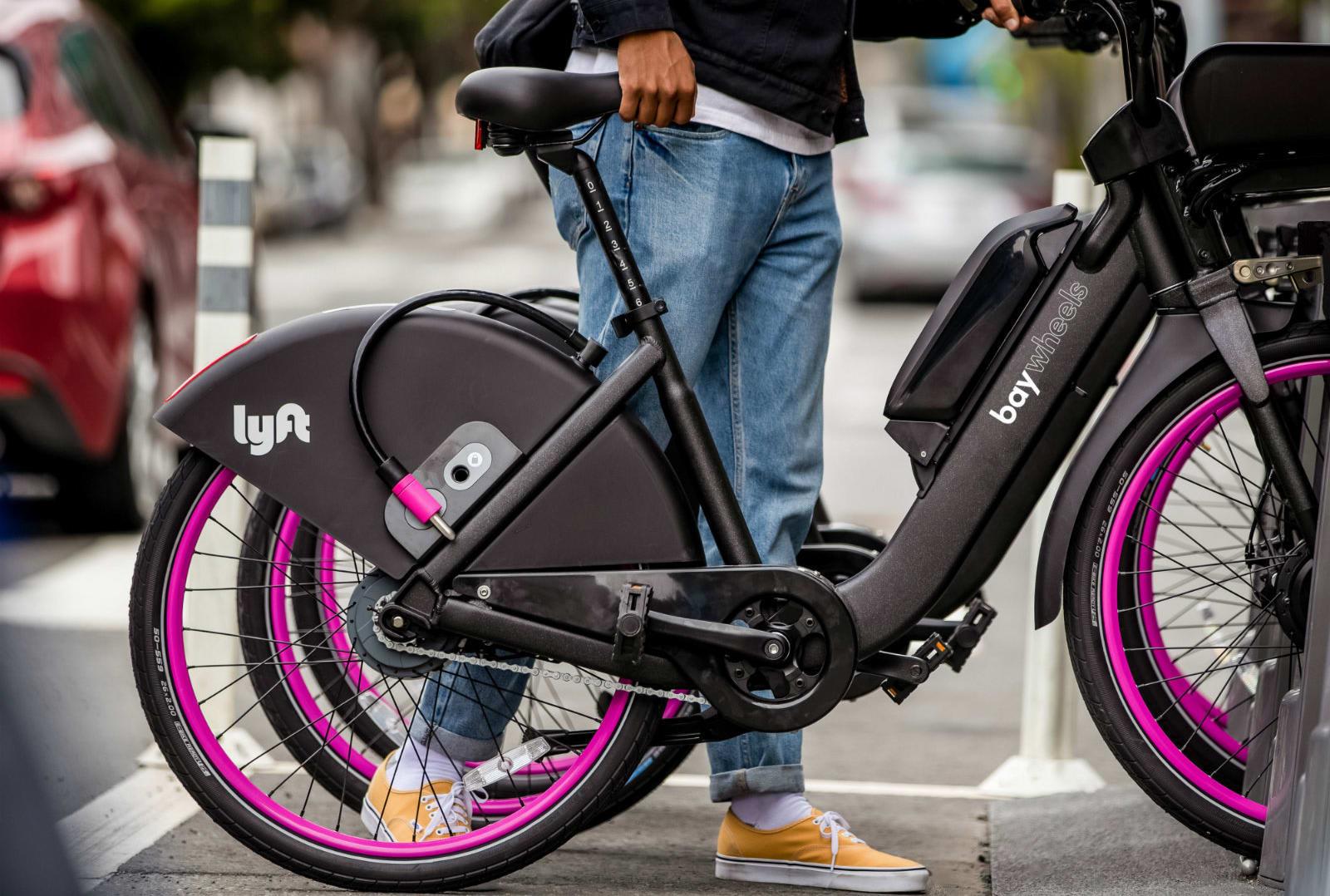 Lyft disables San Francisco e-bikes after suspected battery