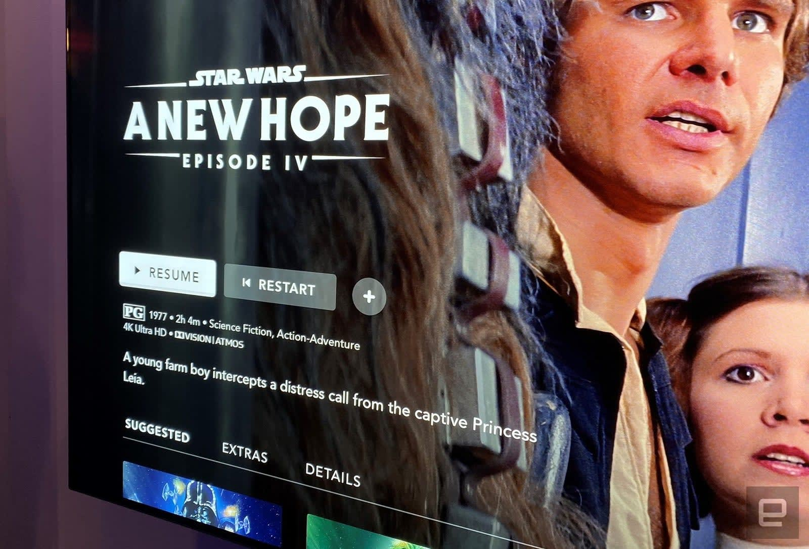 Disney Gets Every Star Wars Movie In 4k Dolby Vision And