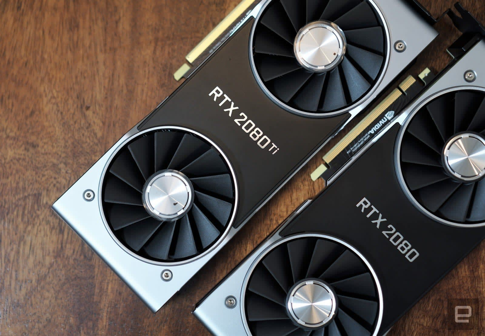 Geek out over the NVIDIA RTX 2080 or 2080 Ti