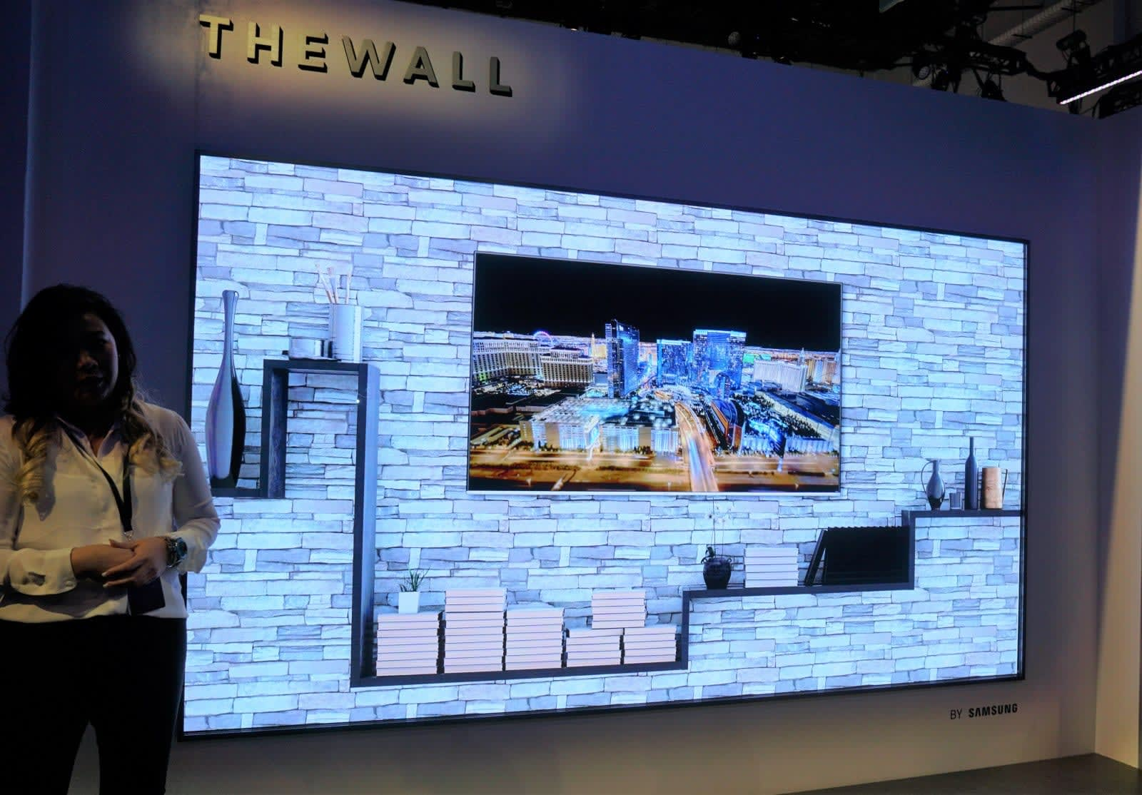 Samsung's massive 'The Wall' TV will be available in August