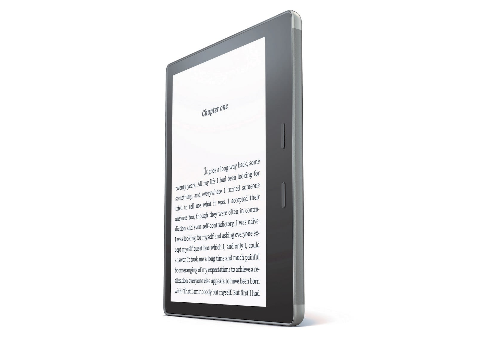 Amazon's new Kindle Oasis is waterproof and has a bigger screen