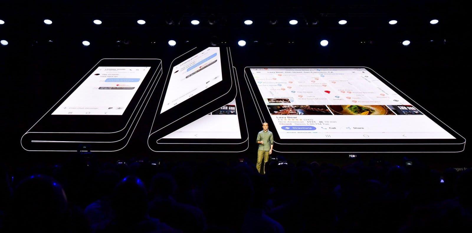 With Galaxy S10, 5G and foldable devices, ile ilgili görsel sonucu