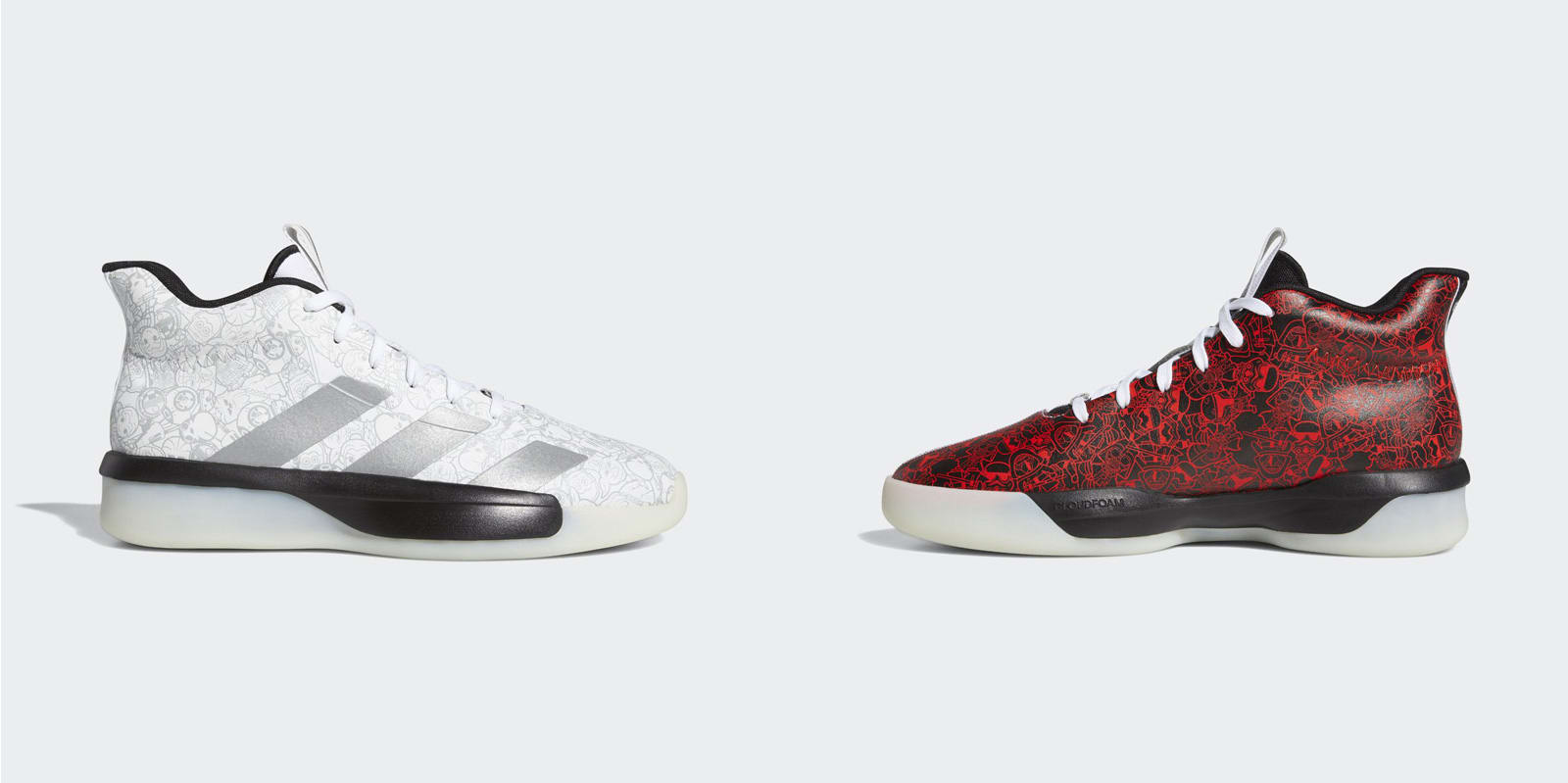 vende talla 40 primer nivel Adidas readies an entire collection of Star Wars basketball ...