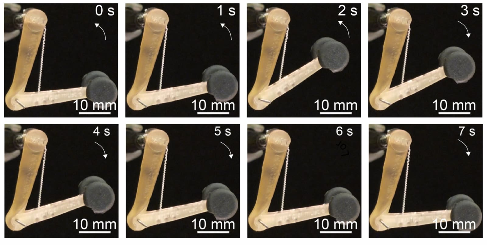 Synthetic fiber 'muscles' could lead to brawny robots and prosthetics