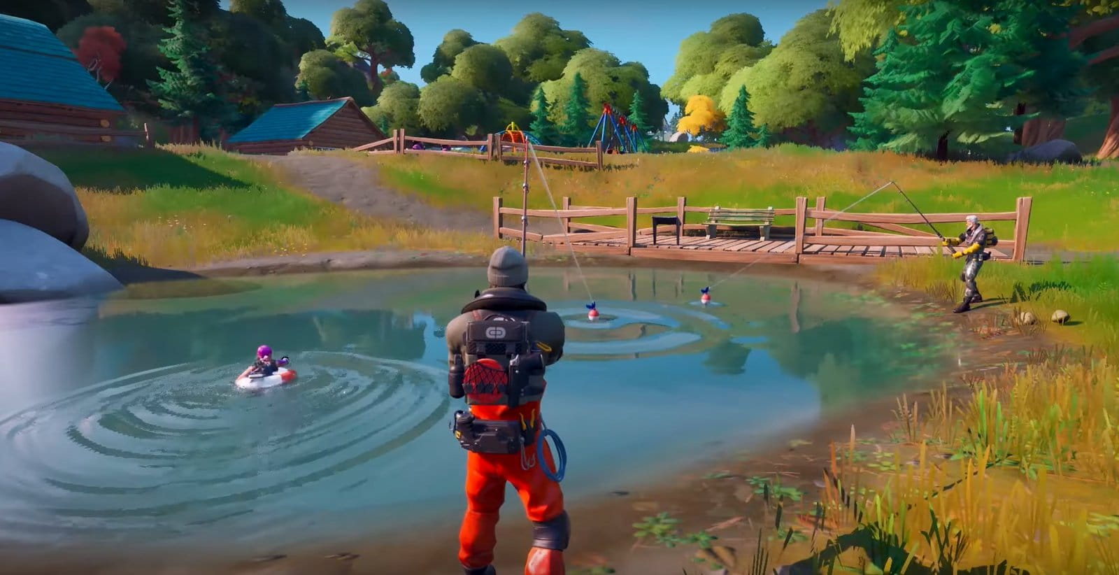 Leaked Fortnite Chapter 2 Trailer Showcases A New Map And