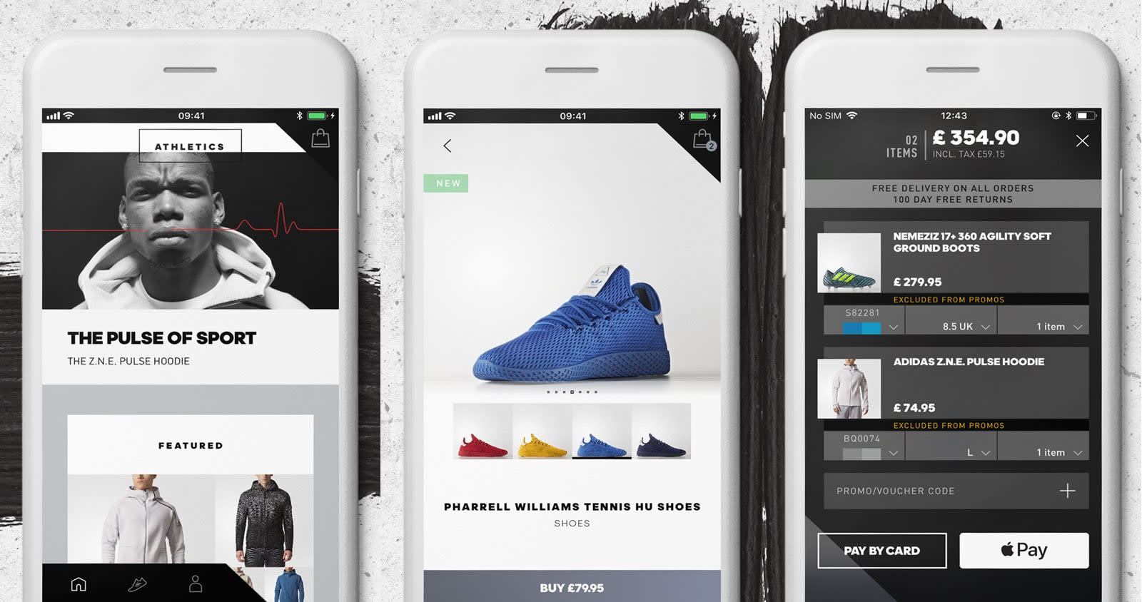 big sale 80b6b 31584 Adidas  first shopping app is also a personalized news feed