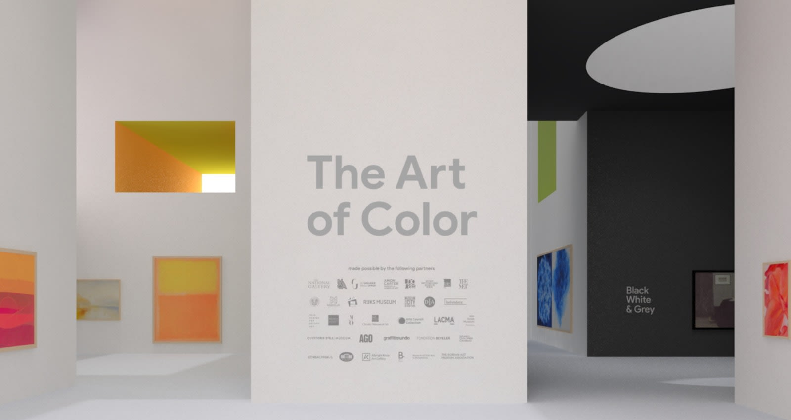 Google Arts & Culture made an AR gallery that celebrates color