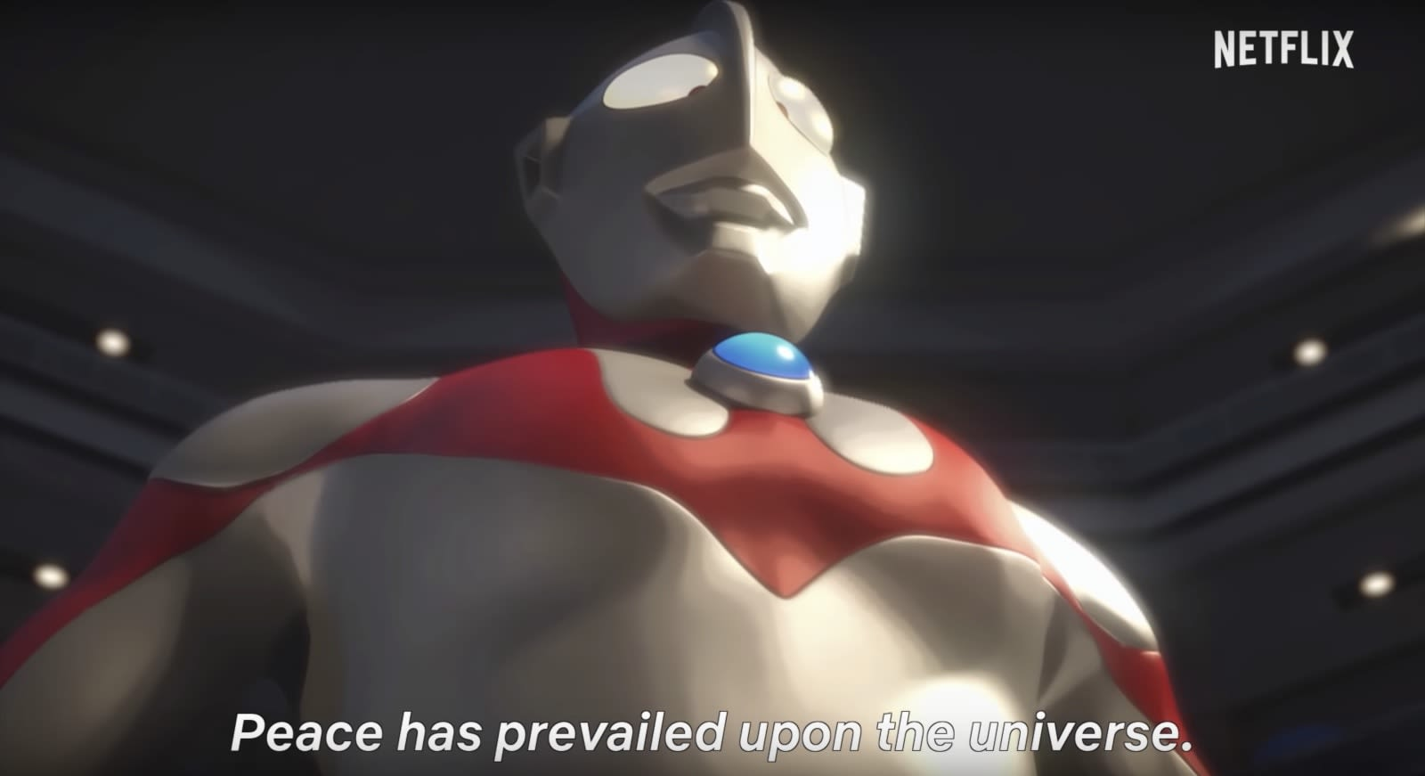 Netflix shows off its ultraman cg anime series in new trailer