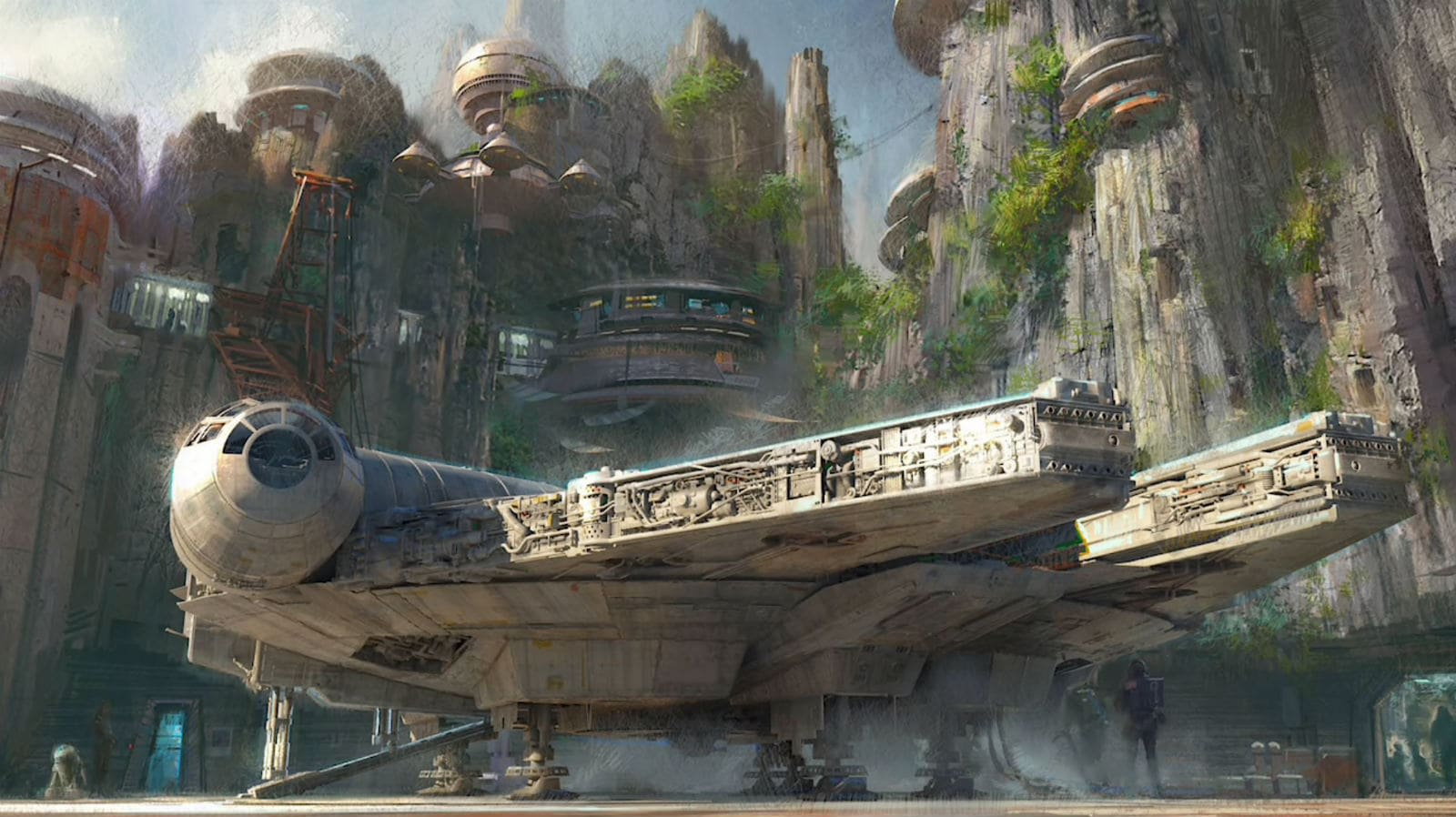 Disney's 'Star Wars' theme park trailer takes you inside its rides