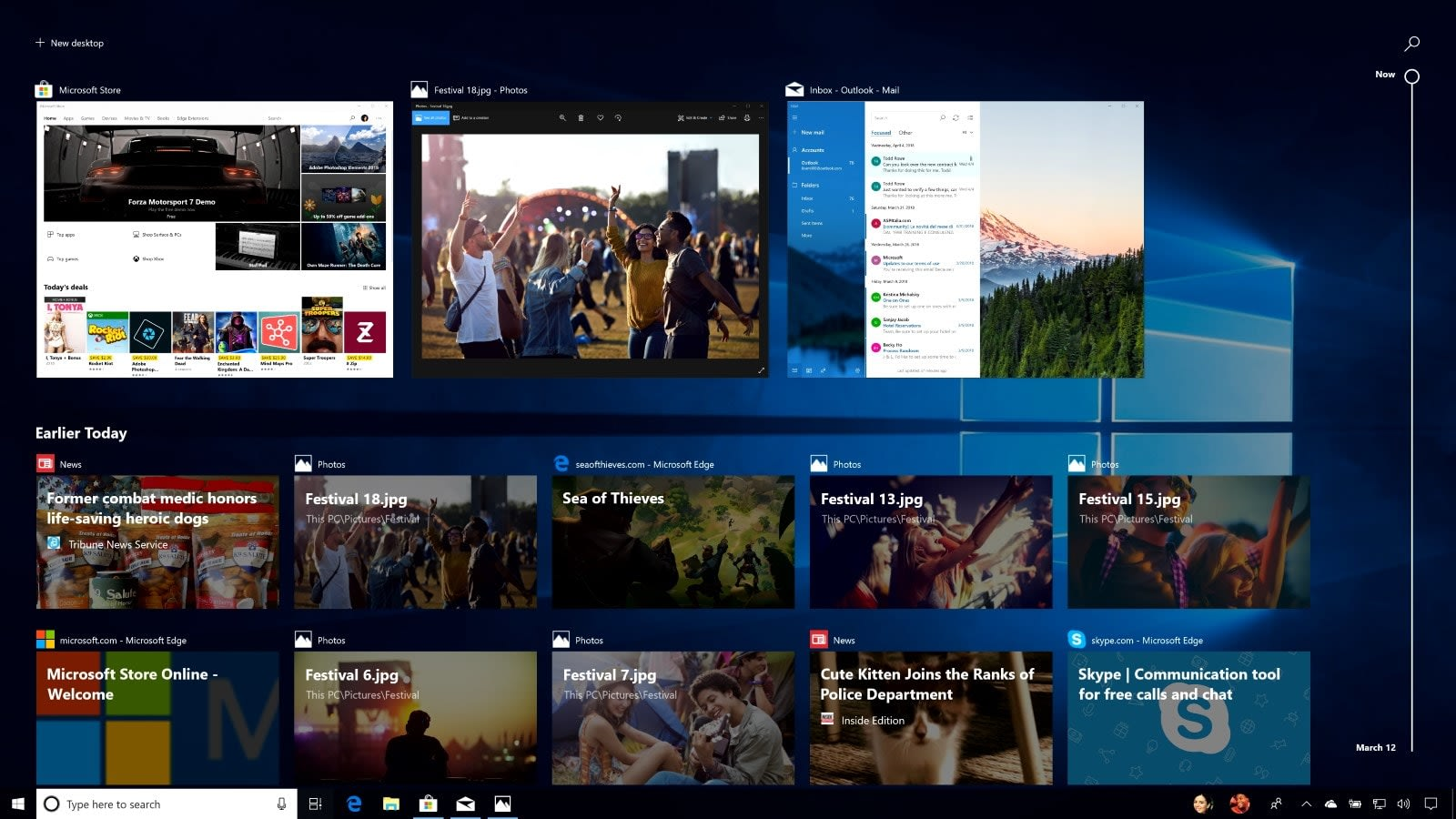 Windows 10 Timeline now works with Chrome