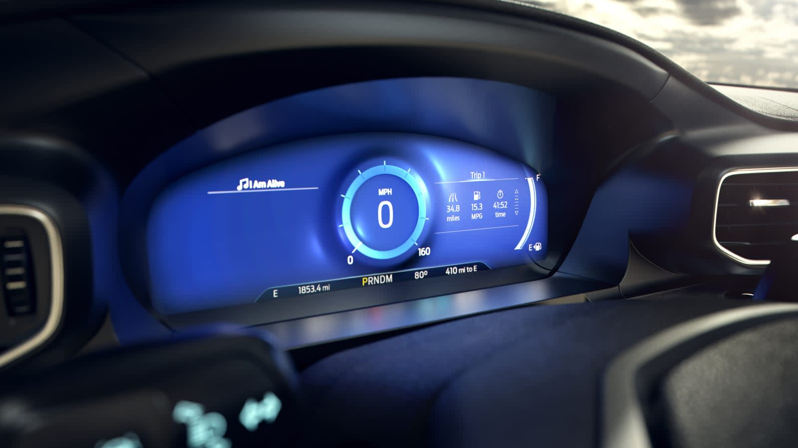 2020 Ford Explorer Activates Mindful Mode For Relaxed Driving