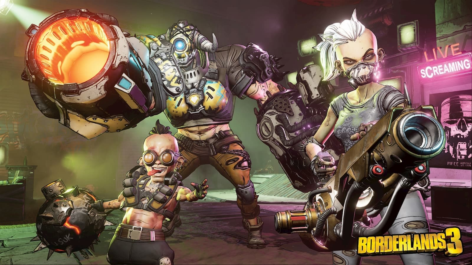 Borderlands 3' will arrive September 13th on PC, PS4 and