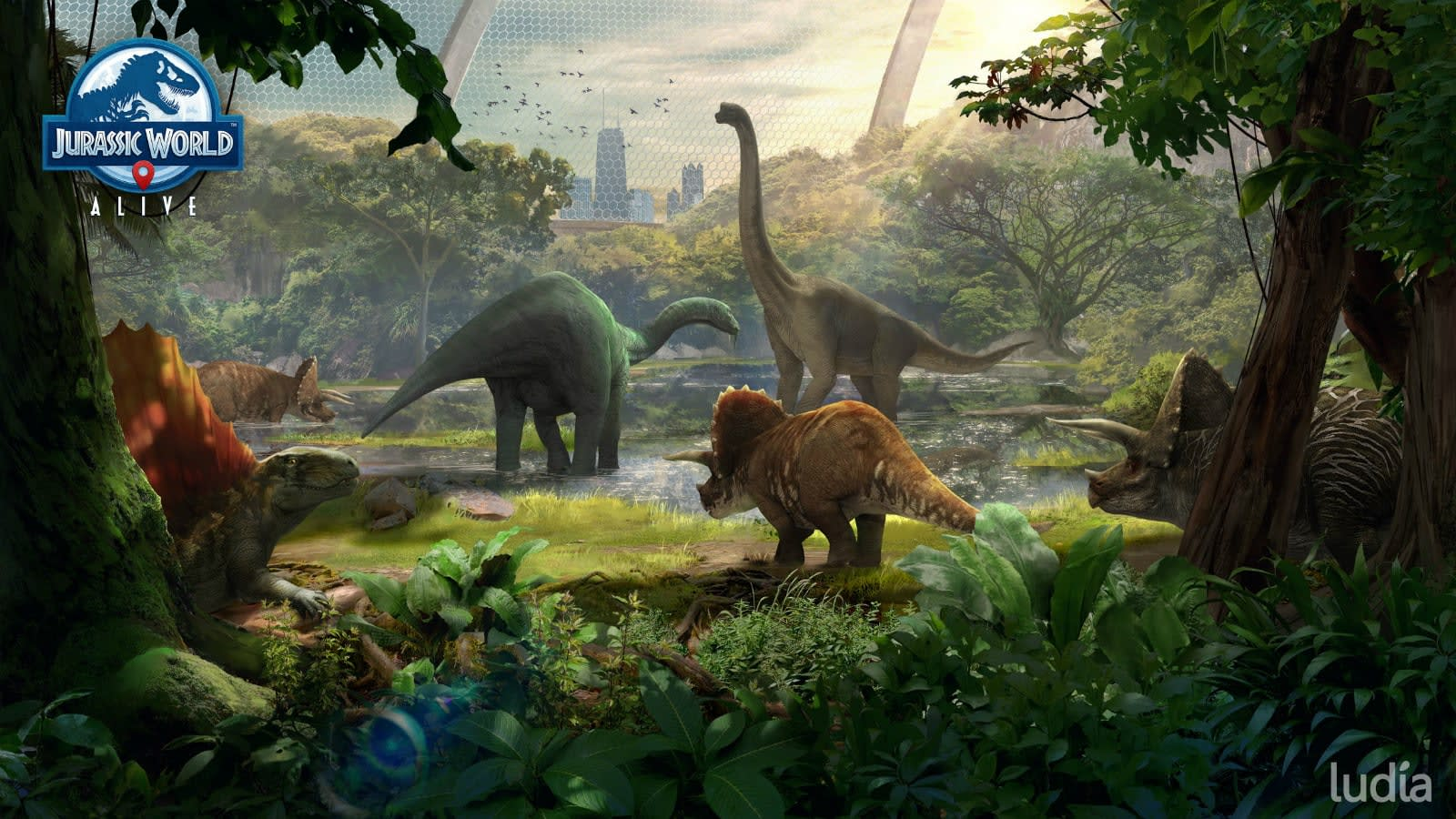 'Jurassic World Alive' update lets users feed their AR dinosaurs