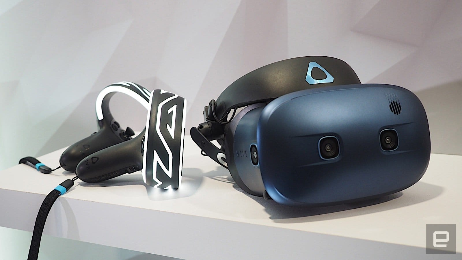 HTC's Cosmos VR headset features a sharper display and six tracking cameras