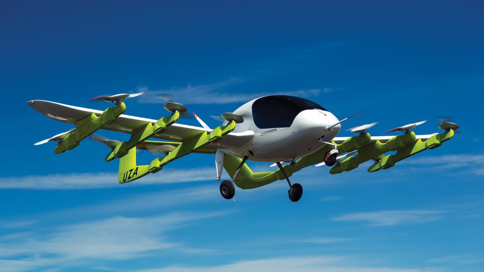 Boeing teams with flying taxi startup Kitty Hawk on 'urban air mobility'
