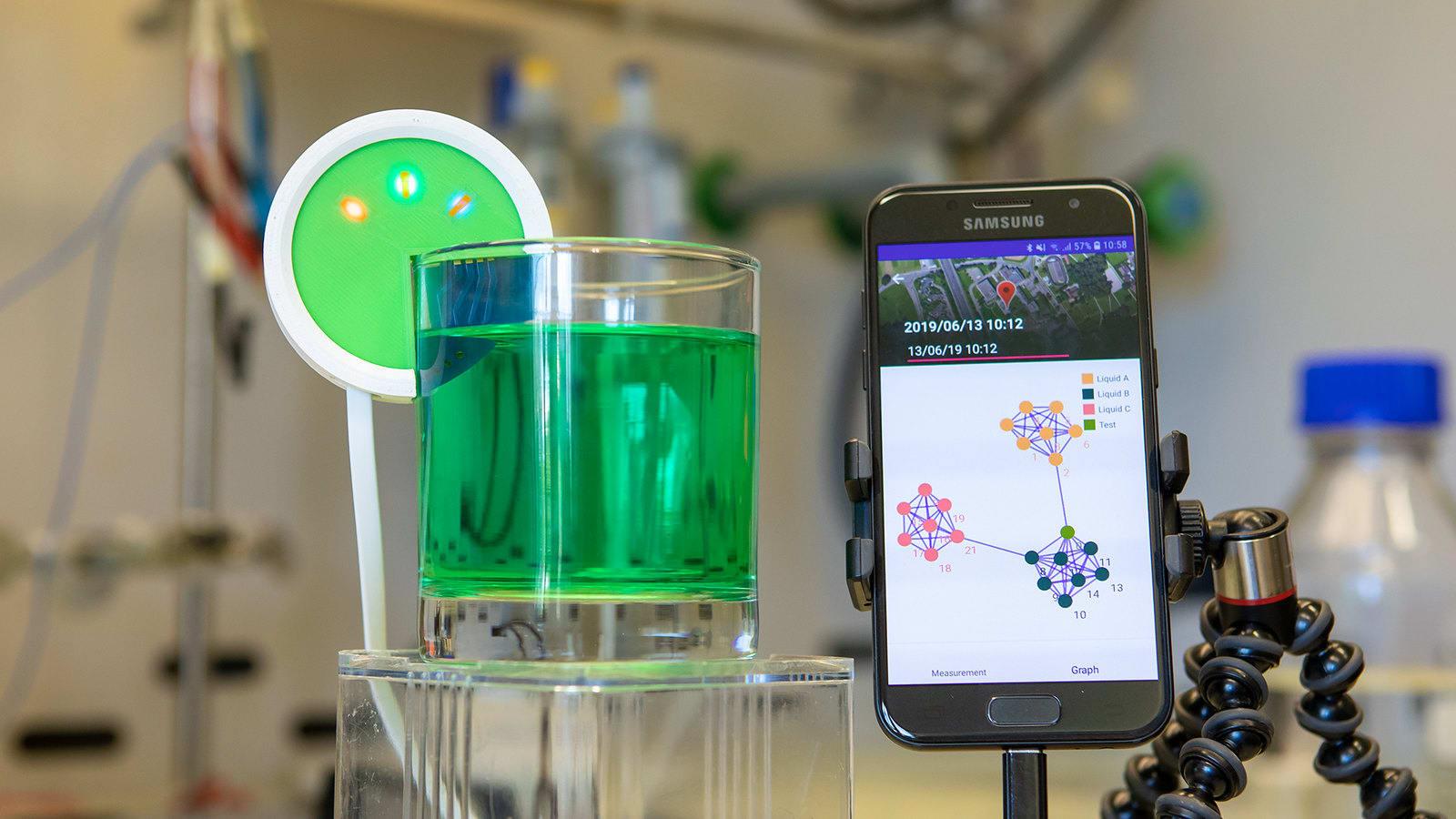 IBM built a robotic tongue to taste test hazardous chemicals