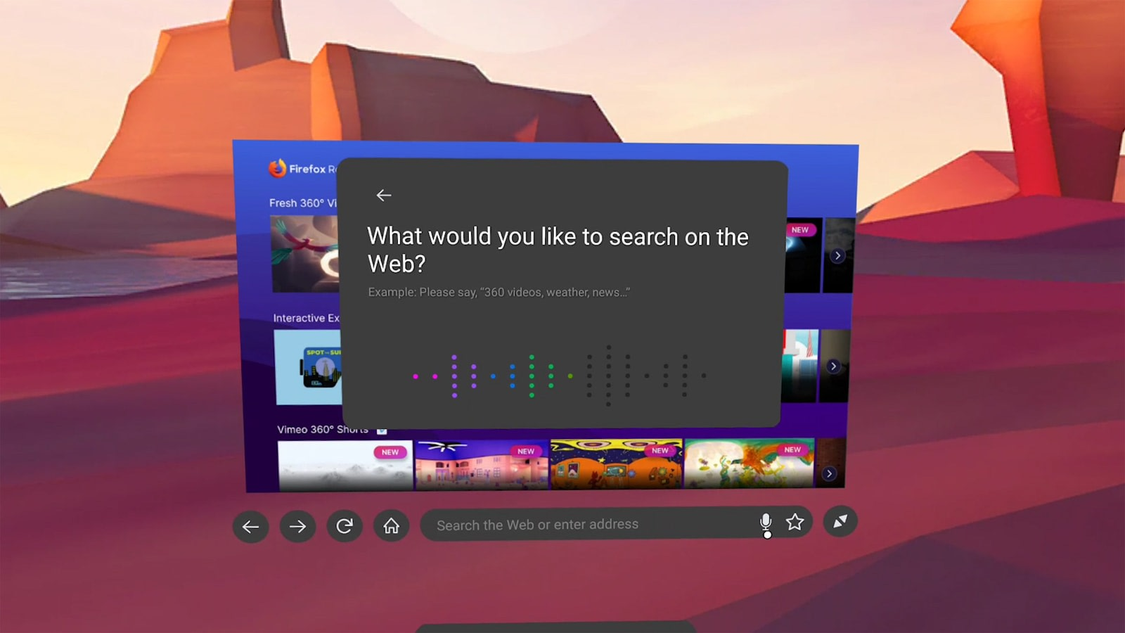 Firefox Reality VR web browser arrives on Oculus Quest headsets