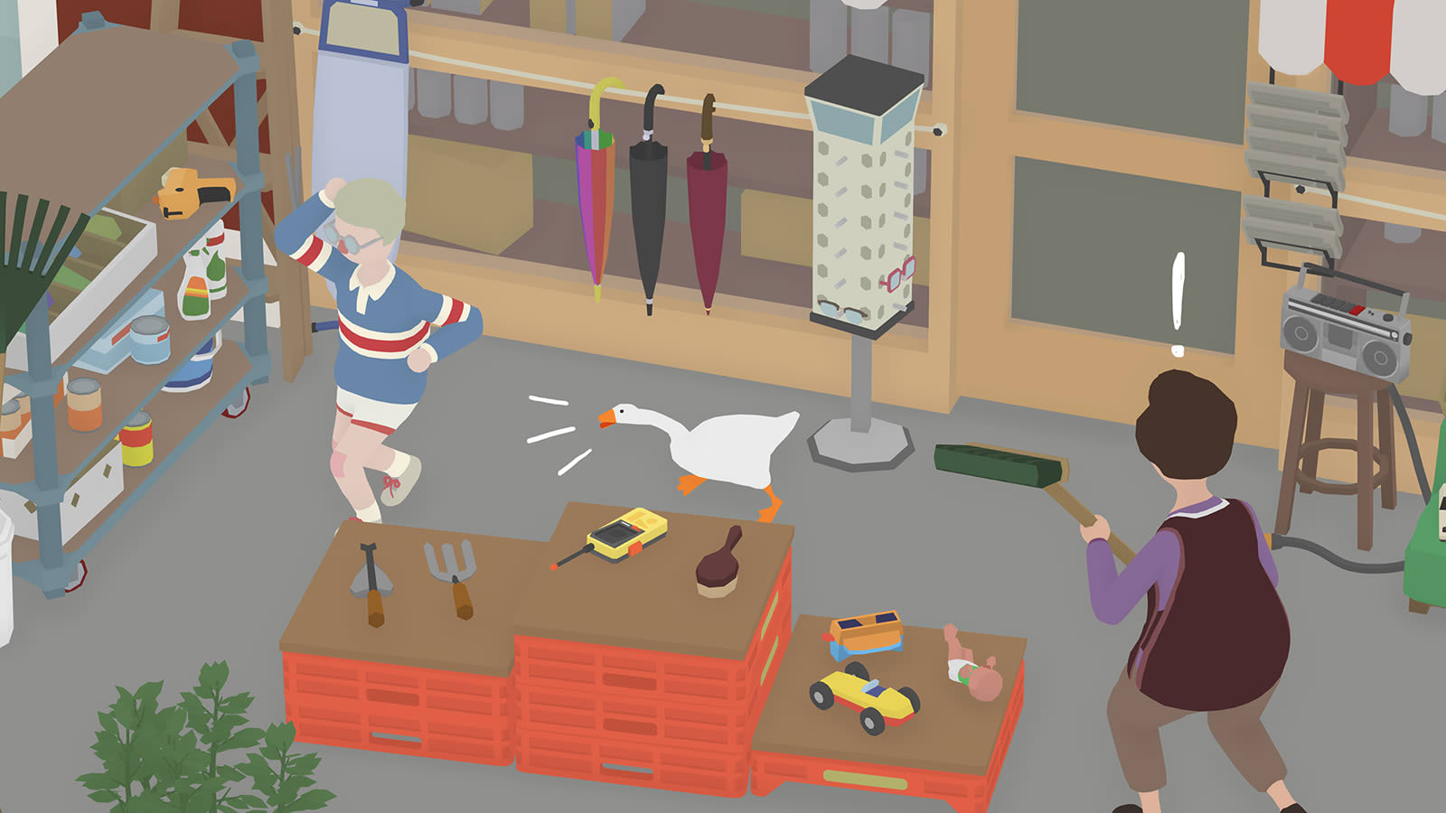 'Untitled Goose Game' will unleash avian chaos on September 20th