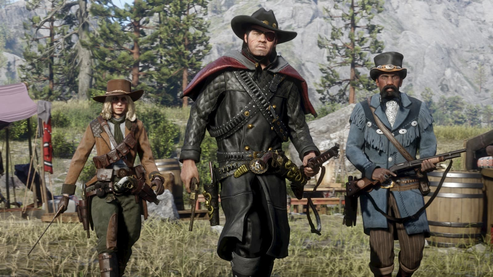 Red Dead Online' players can pick up work as bounty hunters