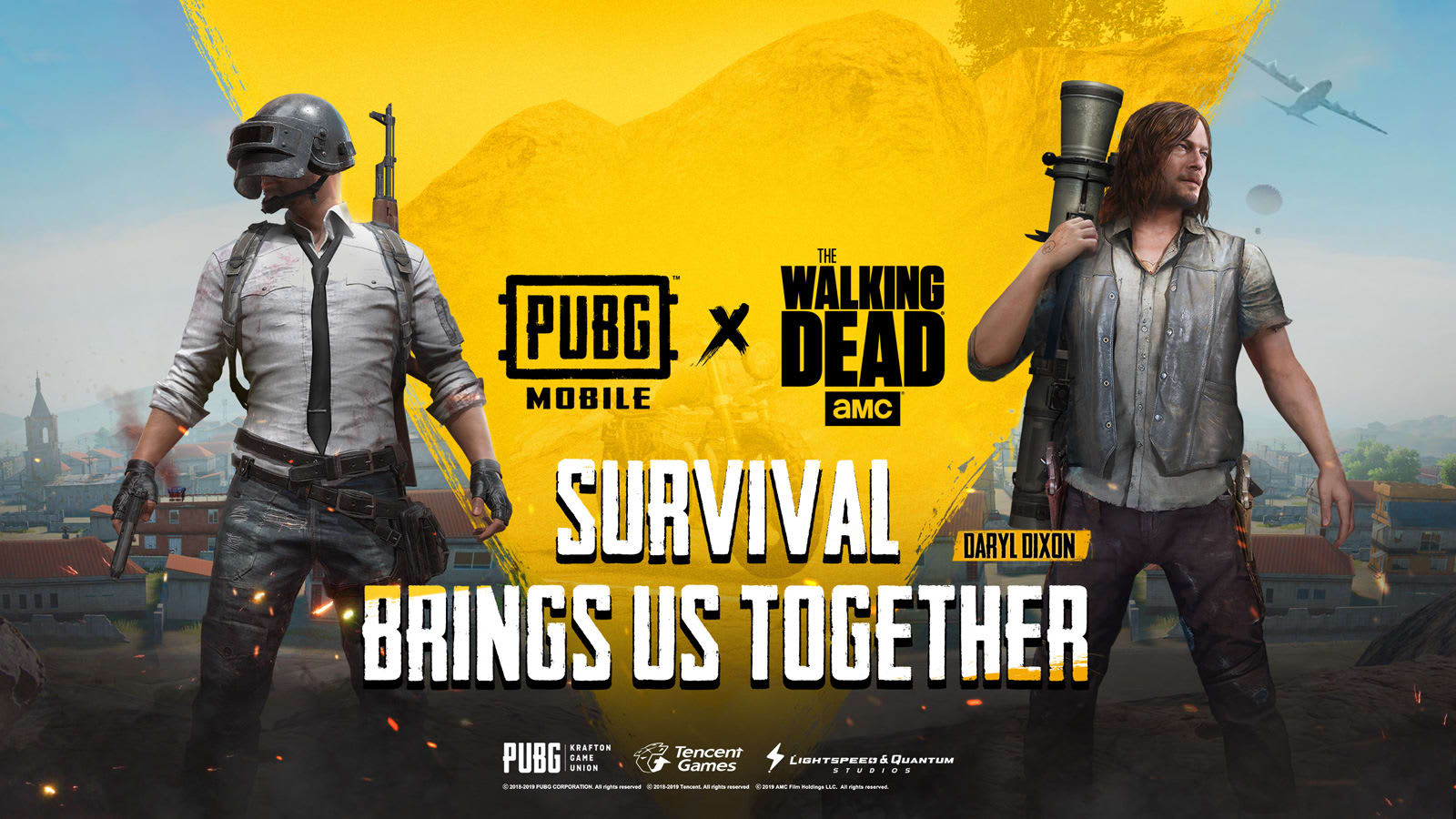 Pubg Mobile Will Add Characters And Gear From The Walking