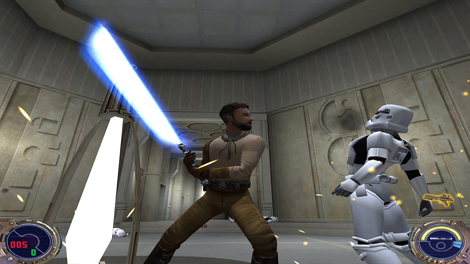 Classic Star Wars game 'Jedi Outcast' arrives on PS4 and Switch