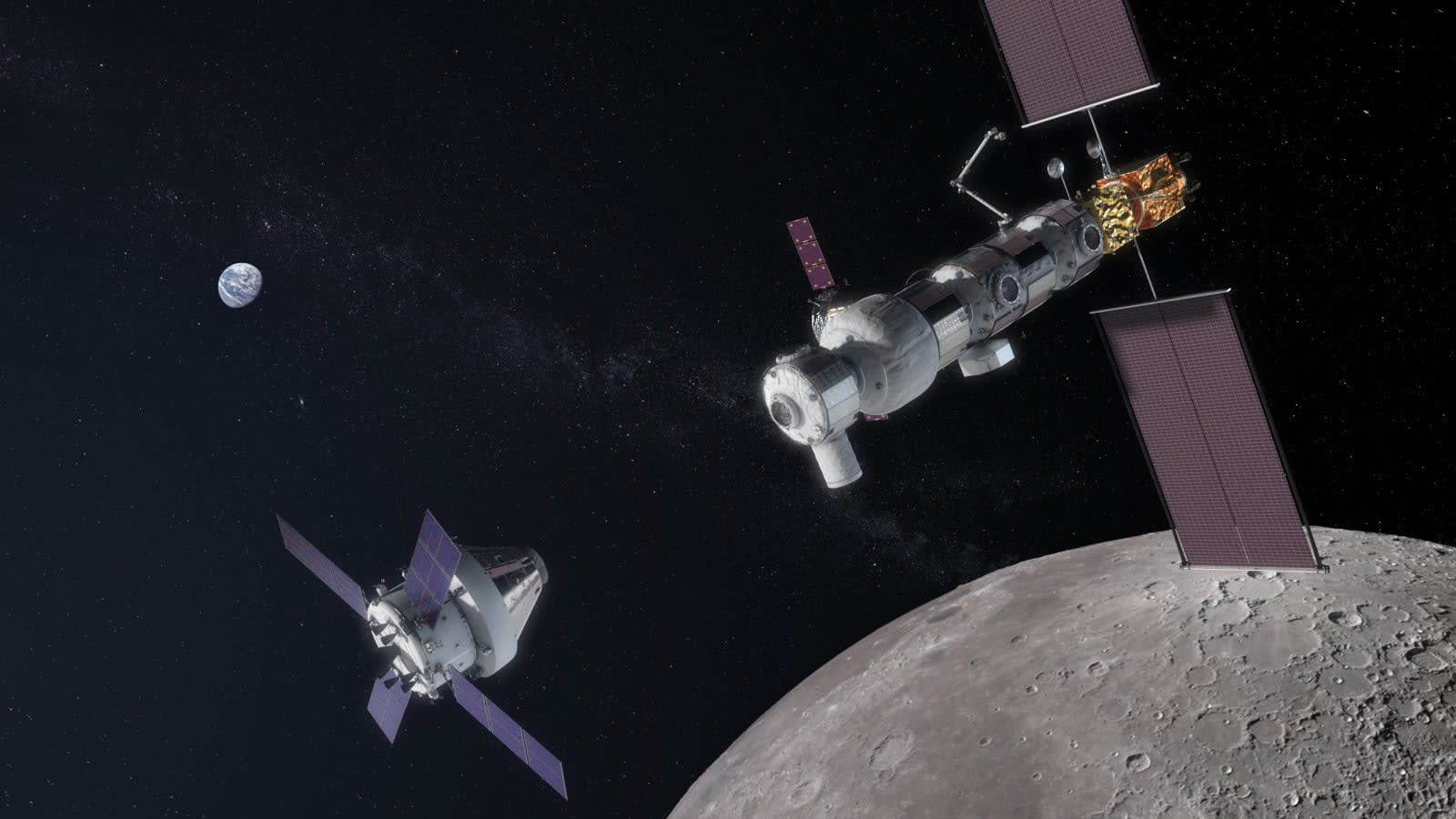 Japan will help NASA build a space station near the Moon