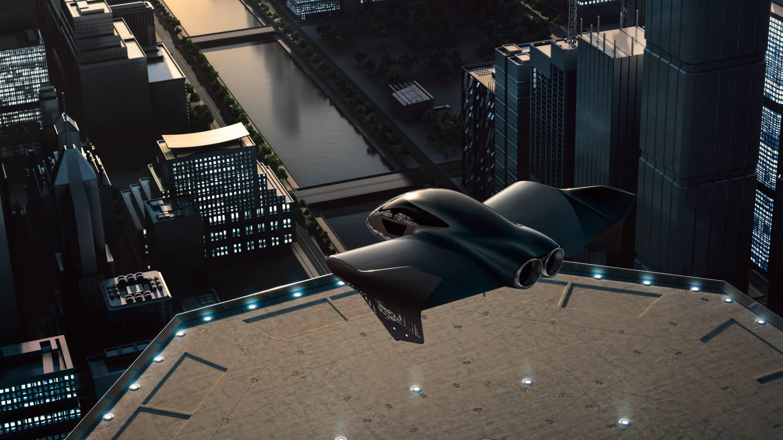 Boeing and Porsche are developing an electric 'flying car'