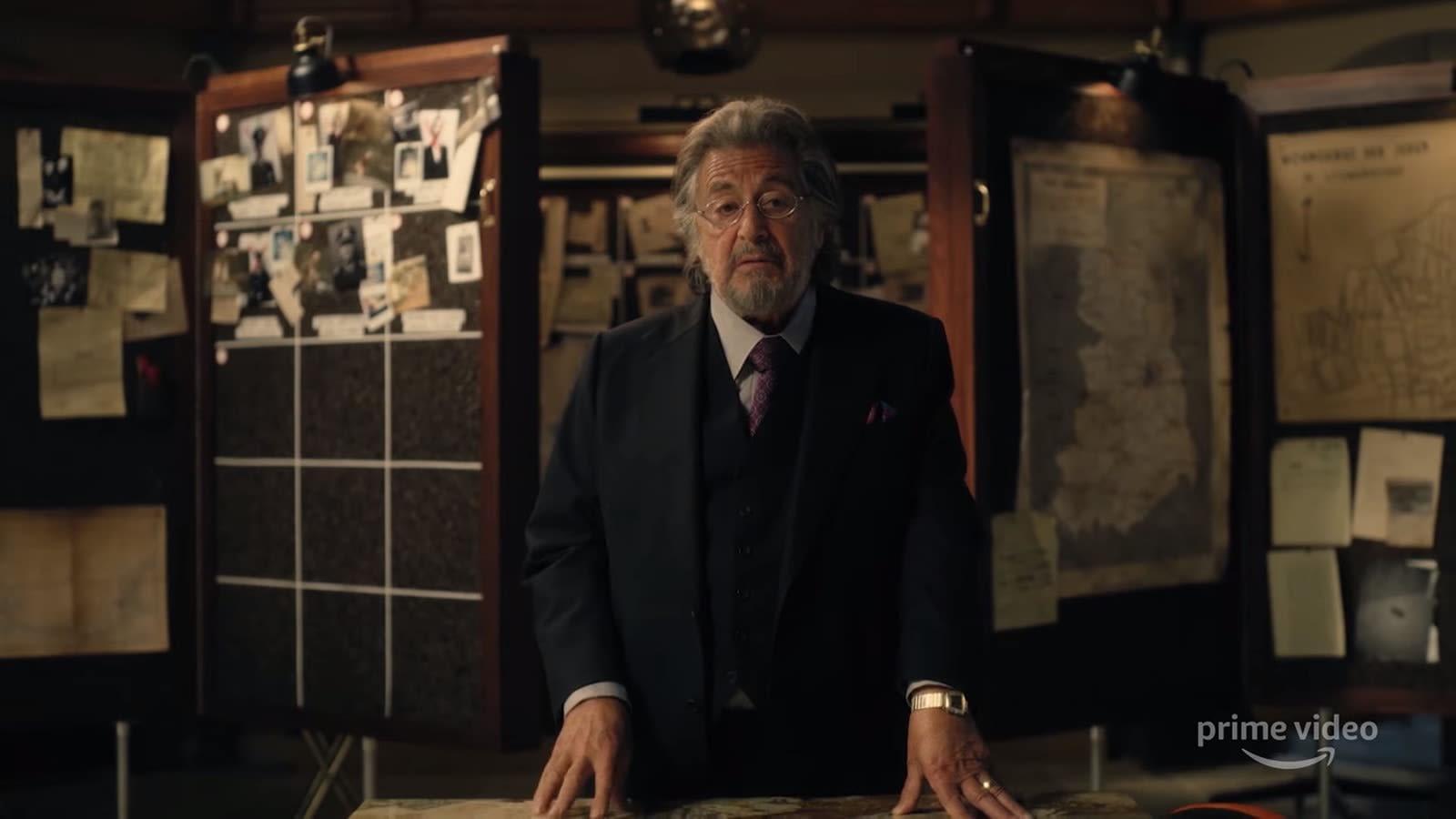 Watch Al Pacino hunt Nazis in Jordan Peele's upcoming Amazon series