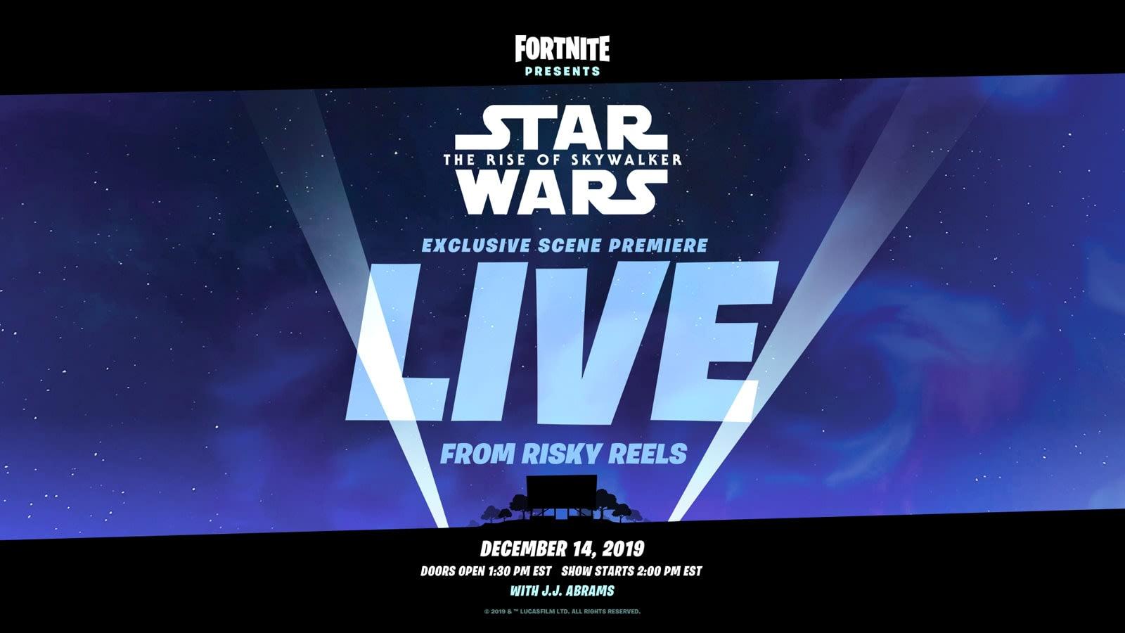 Fortnite Will Premiere A Star Wars Scene With Jj Abrams