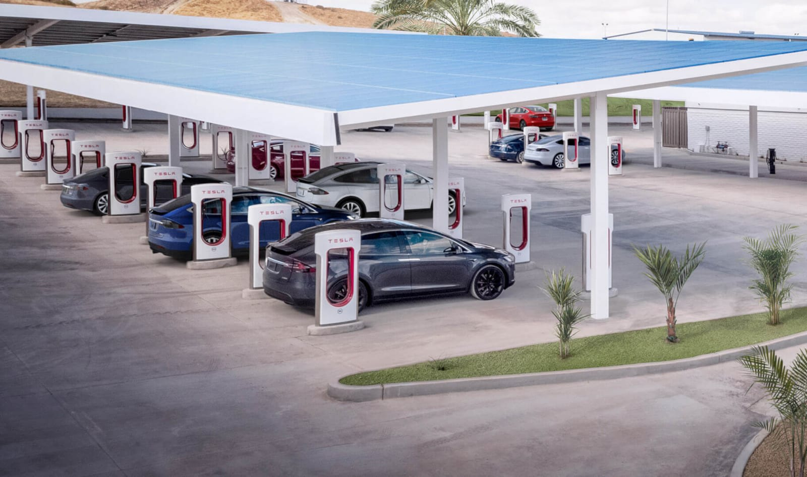 tesla 39 s supercharger network will cover all of europe in 2019. Black Bedroom Furniture Sets. Home Design Ideas