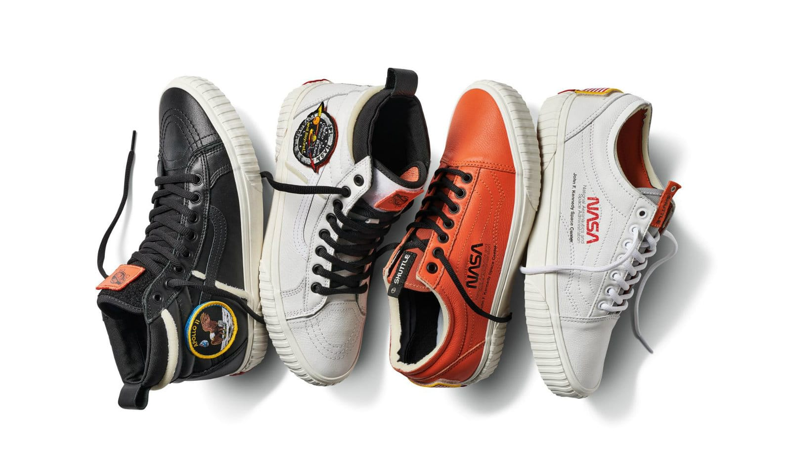 c0d346134388c9 Vans  NASA collection is built for sneakerheads and space nerds