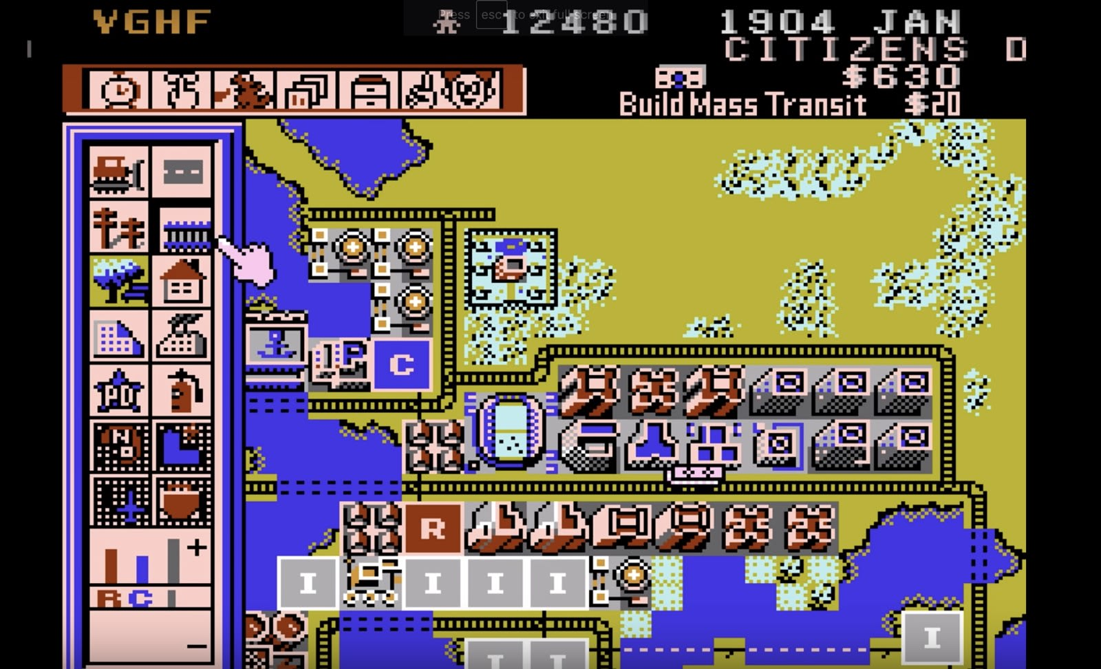 Dive into the long lost SimCity NES port