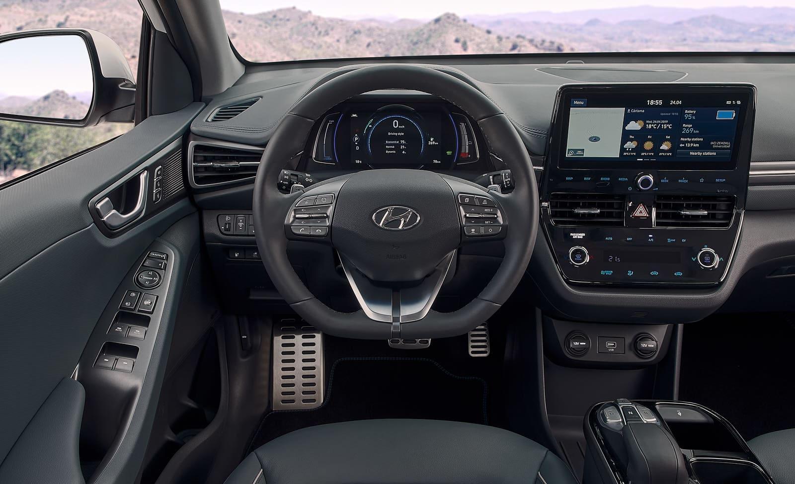 Hyundai S Ioniq Ev Gets A Bigger Battery And More Connectivity